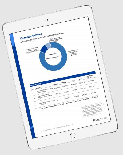 ServiceNow Financial Analysis Ipad Screenshot