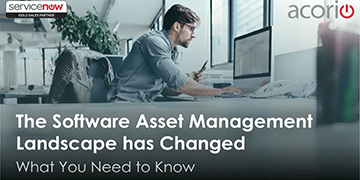 ServiceNow Software Asset Management Webinar SAM
