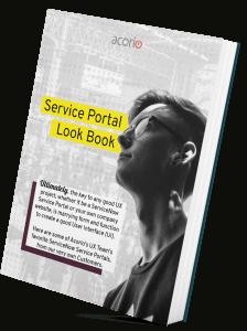 UX Design Service Portal eBook Cover