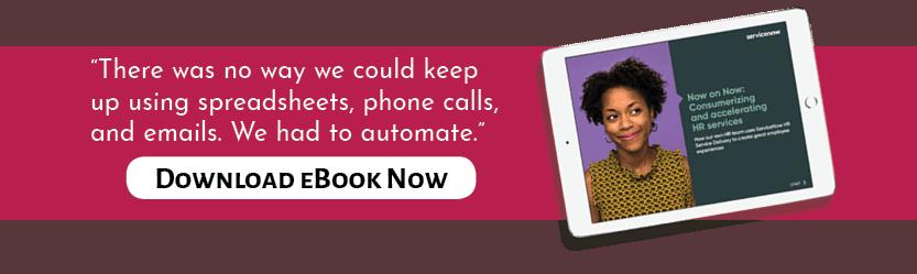 ServiceNow Campaigns eBook iPad mockeup