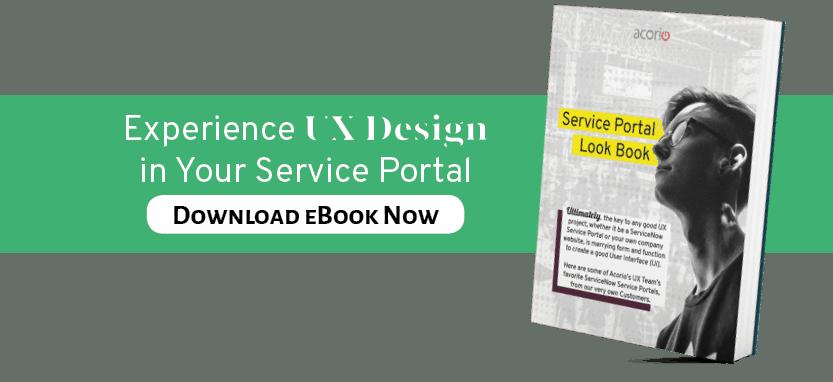 UX Design Service Portal eBook