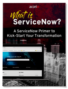 ServiceNow Primer eBook Cover