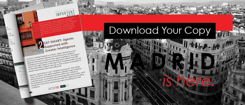 ServiceNow Madrid eBook download