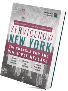ServiceNow New York Release eBook cover
