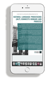 ServiceNow New York Release eBook page preview on phone