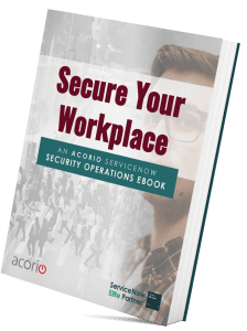 ServiceNow Security eBook cover