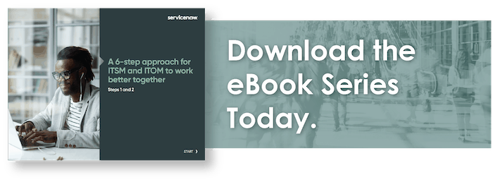 ITOM ITSM eBook series preview