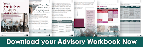 ServiceNow Advisory eBook preview
