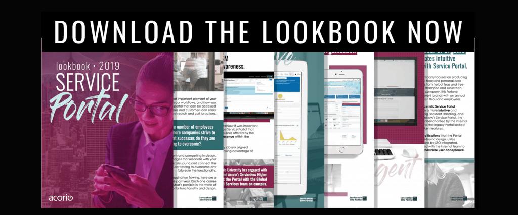 Service Portal Lookbook Download