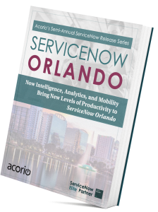ServiceNow Orlando upgrade eBook cover